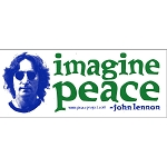 MS32 - Imagine Peace Mini Sticker