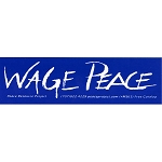 MS37 - Wage Peace Mini Sticker