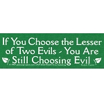 MS38 - Lesser of Two Evils Mini Sticker