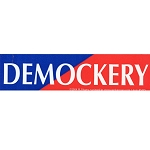MS46 - Democracy Demockery Mini Sticker