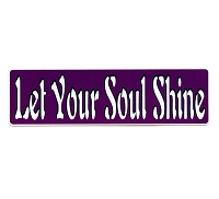 MS99 - Let Soul Shine Mini Sticker