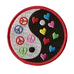 P144 - Peace And Love Yin-Yang Patch