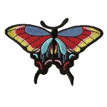 P148 - Rainbow Butterfly Patch