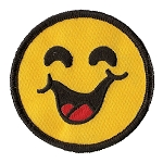 P151 - Smiley Face Patch
