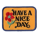 P157 - Have A Nice Day Patch
