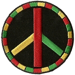 P226 - Rasta Peace Patch