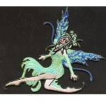 P056 - Ice Fairy Embroidered Patch