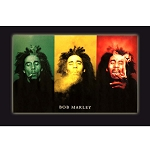 PS013 - Bob Marley - Smoke Trio Poster