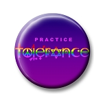 B372 - Practice Tolerance Rainbow Symbols Button