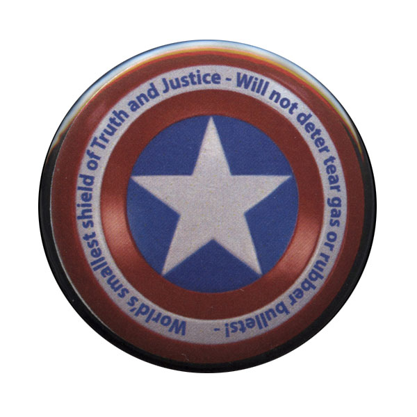 B140 - Captain America Shield Button