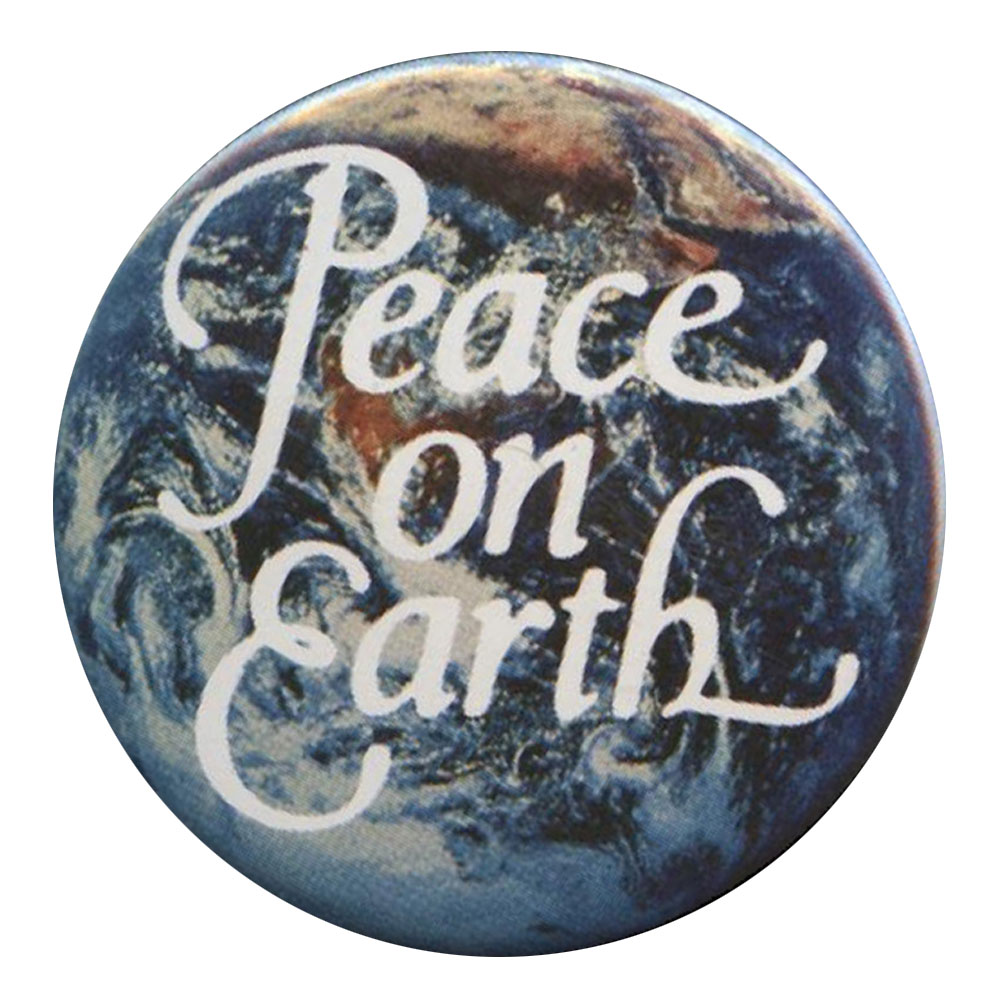 B169 - Peace on Earth Button