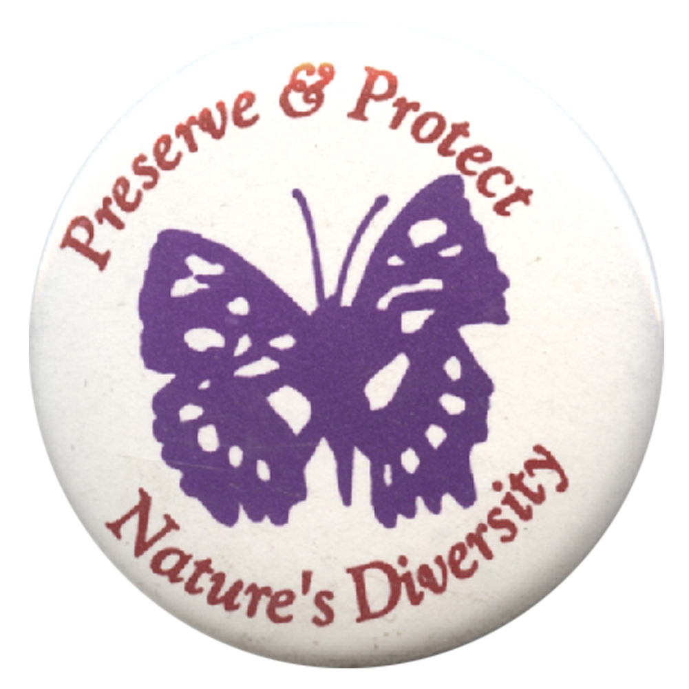 B350 - Preserve & Protect Nature's Diversity Button