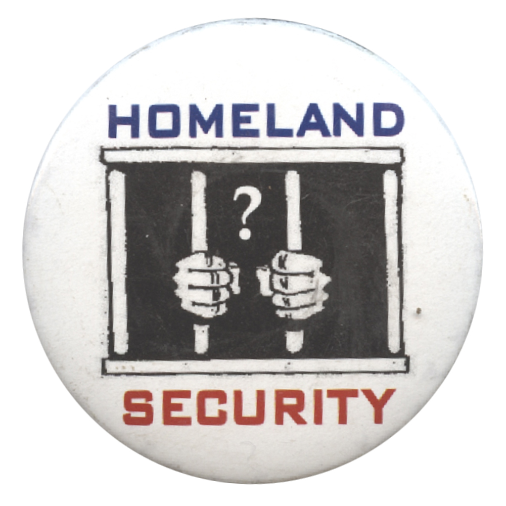 B404 - Homeland Security Button