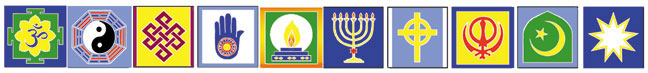 BPF05 - Harmony Interfaith Flag String