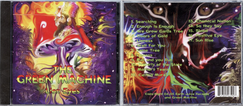 CD10 - Lion Eyes/Green Machine CD
