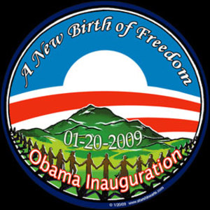 CS89 - Birth of Freedom Large Full Color Bumper Sticker