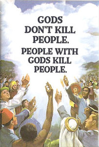EM262 - Gods don't kill people - People with Gods kill people Magnet (74