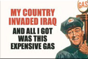 EM50 - Invaded Iraq Magnet