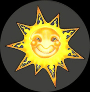 MA12 - Happy Sun Mini Art Decal