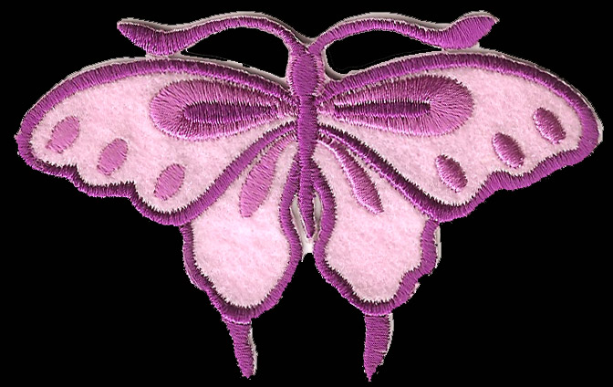 P150 - Purple Butterfly Patch