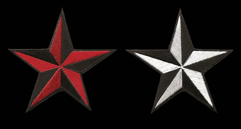 P205 - 3D Star Patch