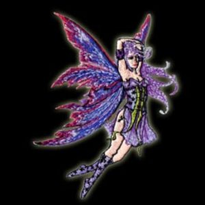 P061 - Star Fairy Embroidered Patch
