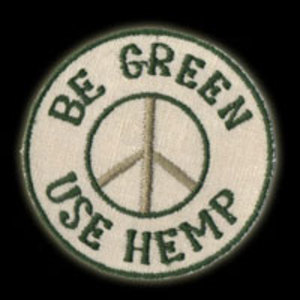 P080 - Be Green Patch
