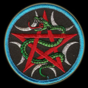 P092 - Goddess Serpent Patch