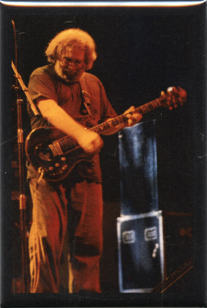 RC02 - Jerry Garcia at the Hampton Colosseum, Terrapin Fridge Magnet
