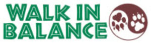S129 - Walk in Balance Bumper Sticker
