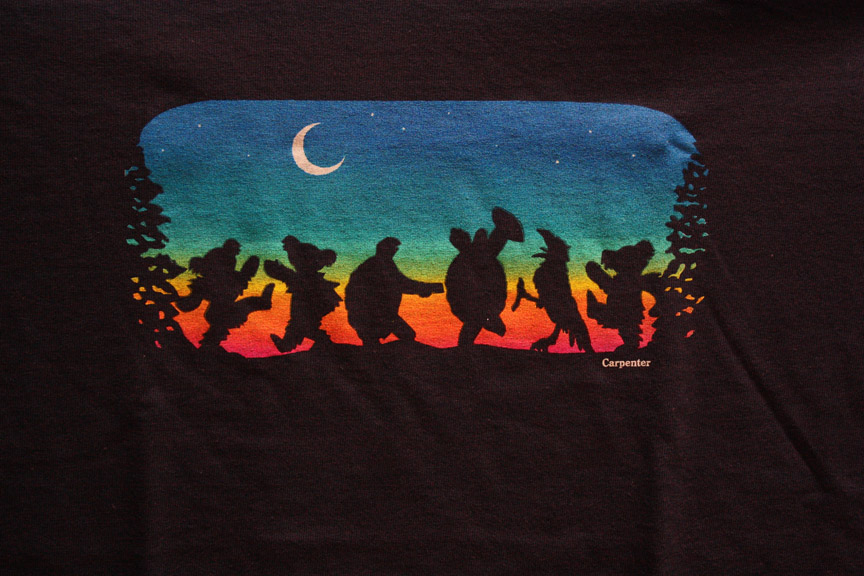T115 - Grateful Dead - Moondance Unisex T-shirt
