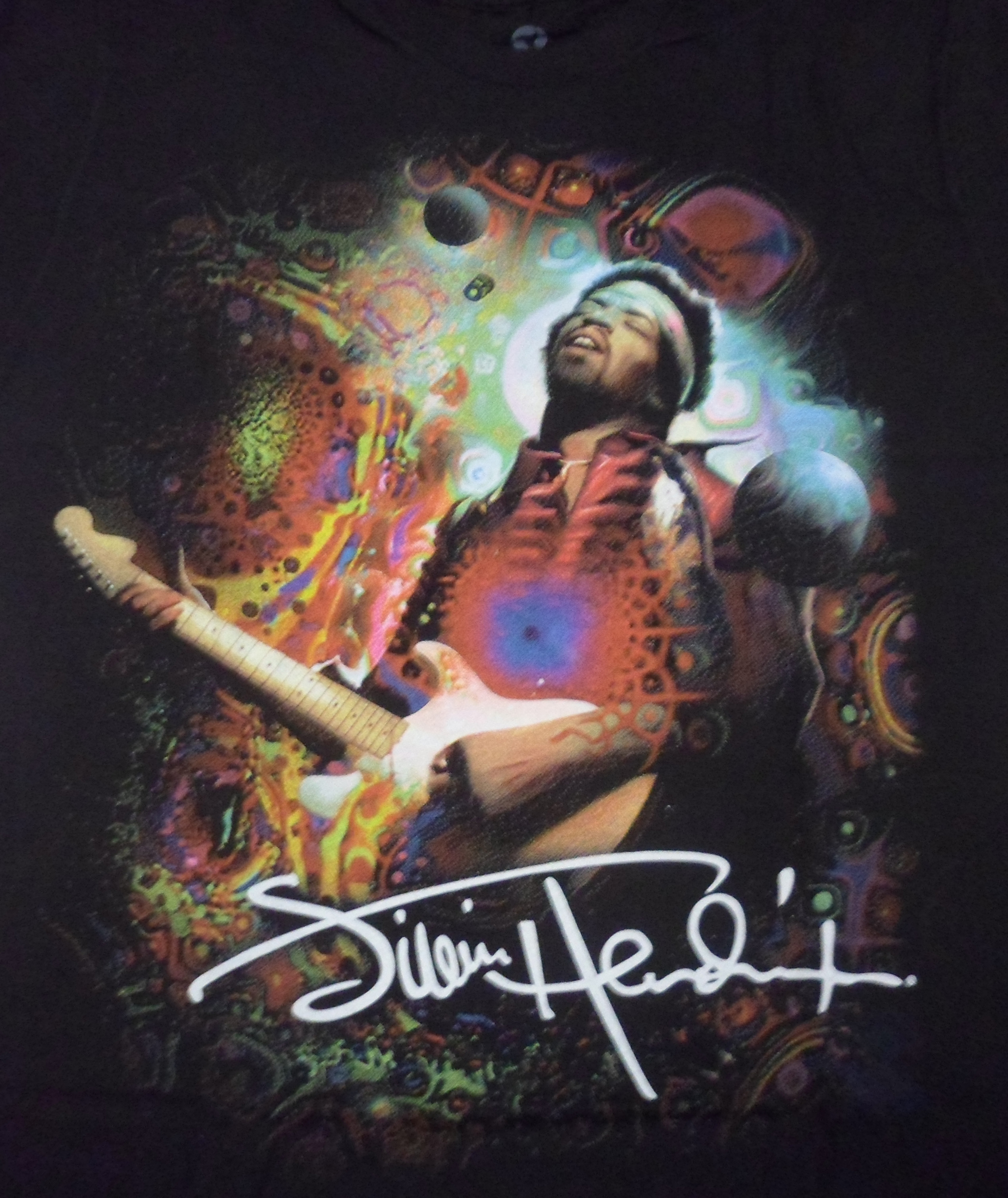 T120- Jimi Hendrix Angel T Shirt