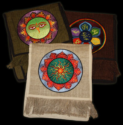 TB007 - Nepal Embroidered Shoulder Bags