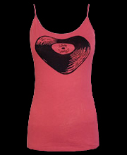 WTY001 - Love Songs Album Junior's Tank Top