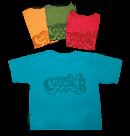 Y031 - Happy Coexist Youth Childrens T-Shirt