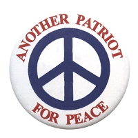B172 - Another Patriot For Peace Button