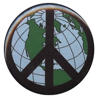 B221 - World Peace Button
