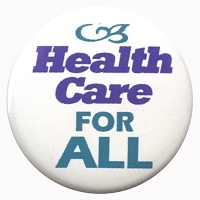 B352 - Health Care For All Button