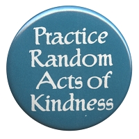 B356 - Practice Random Acts Of Kindness Button