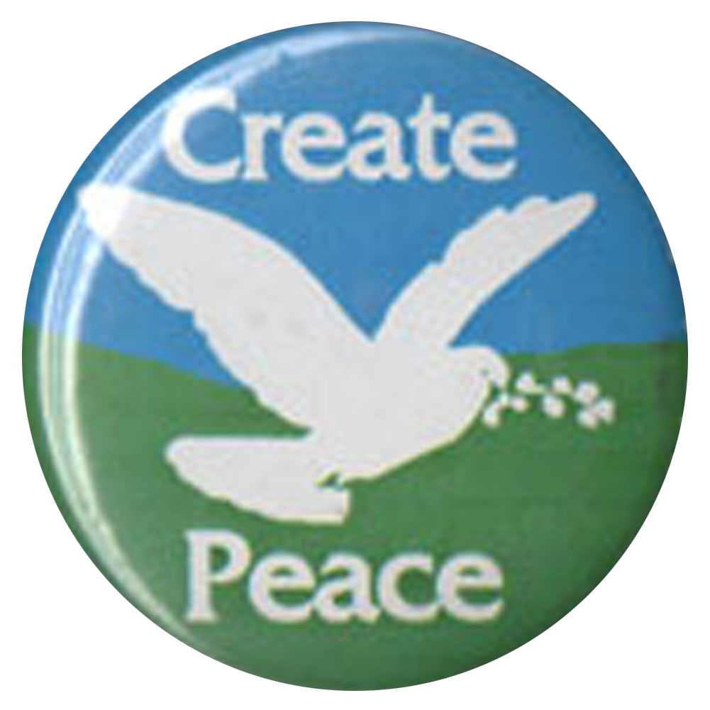 B369 - Create Peace Button
