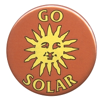 B416 - Go Solar Button