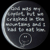 B068 - God was my copilot, but we crashed in the mountains and I had to