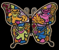 P122 - Grateful Dead Butterfly Patch