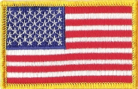 P191 - American Flag Patch