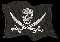 P192 - Pirate Flag Patch