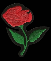 P189 - Red Rose Patch