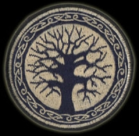 P79 - Celtic Tree Embroidered Patch