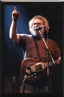 RC03 - Jerry Garcia at the Hampton Col. Not fade Away Fridge Magnet