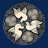 T055 - Celtic Doves T-Shirt