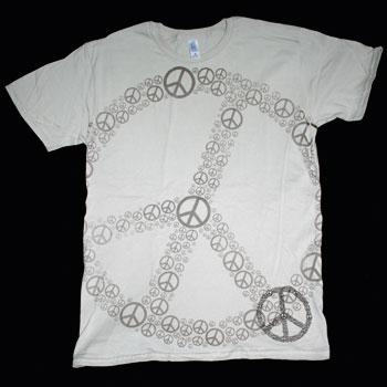 Peace Symbols In Full Frontal Peace Symbol T Shirt